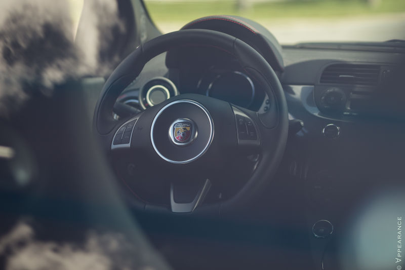 2016 Fiat 500 Abarth Interior