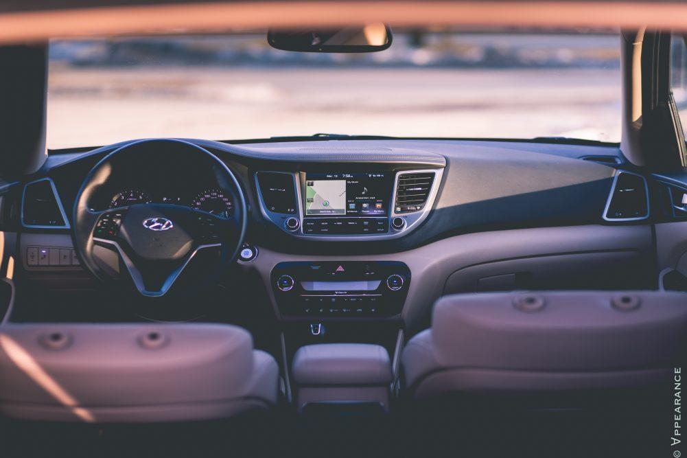 2016 Hyundai Tucson Interior