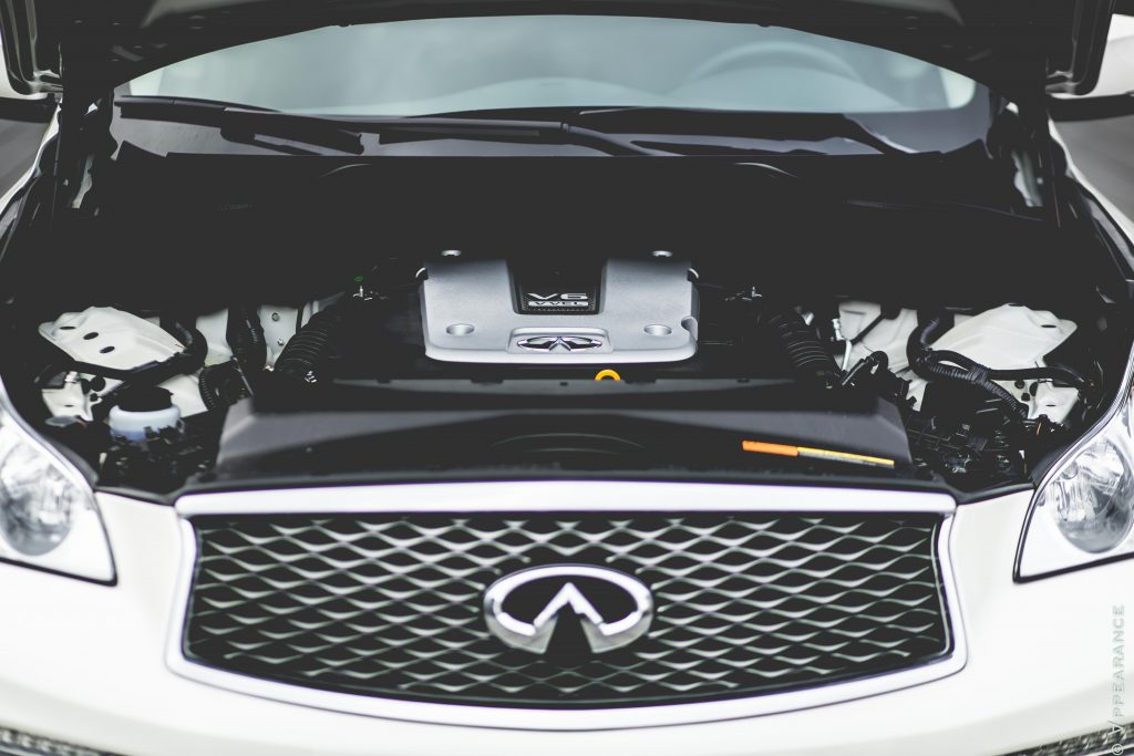 2016 Infiniti QX50 Engine