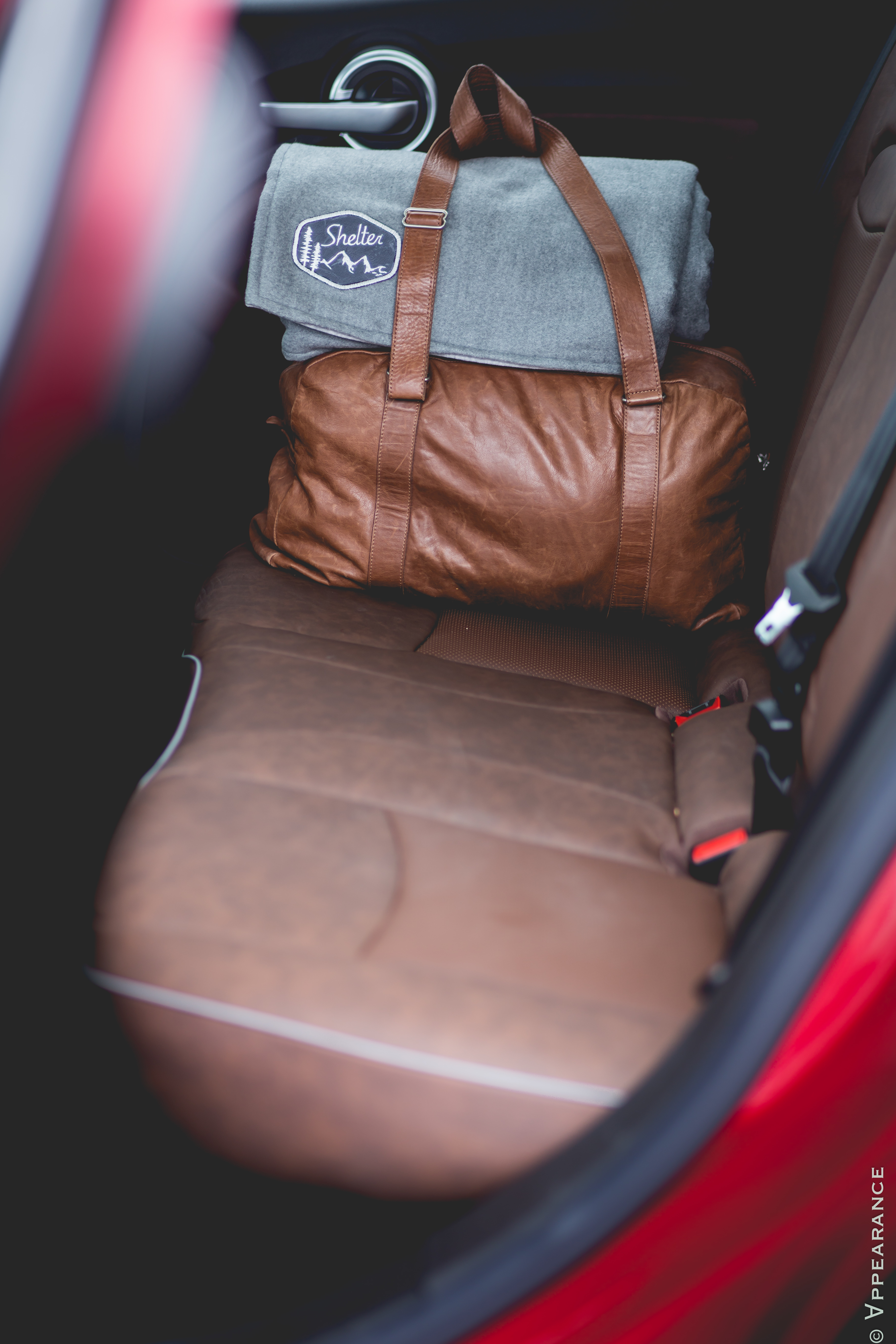 2016 Fiat 500X Rear Seats