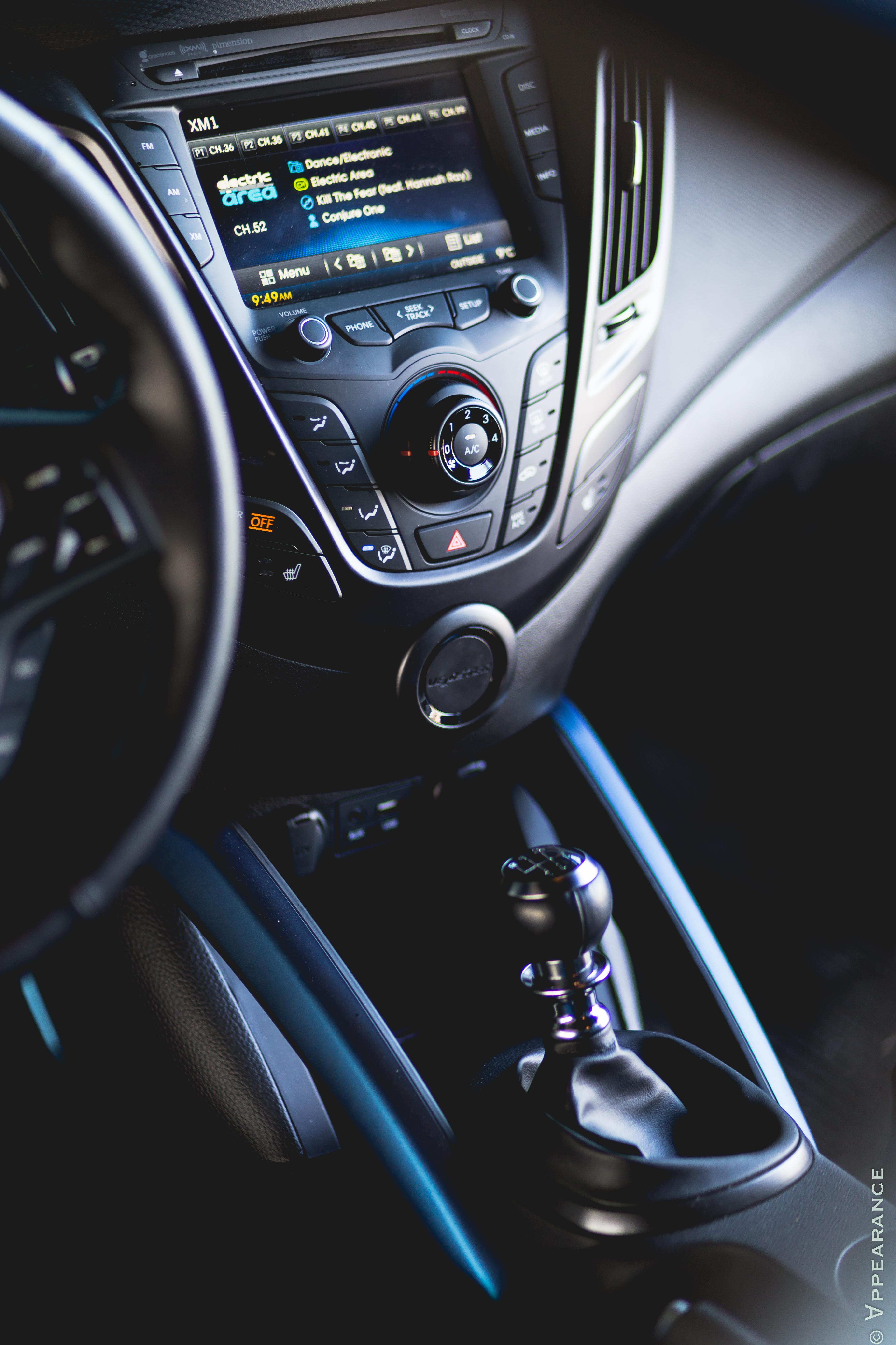 2016 Hyundai Veloster Rally Edition Interior