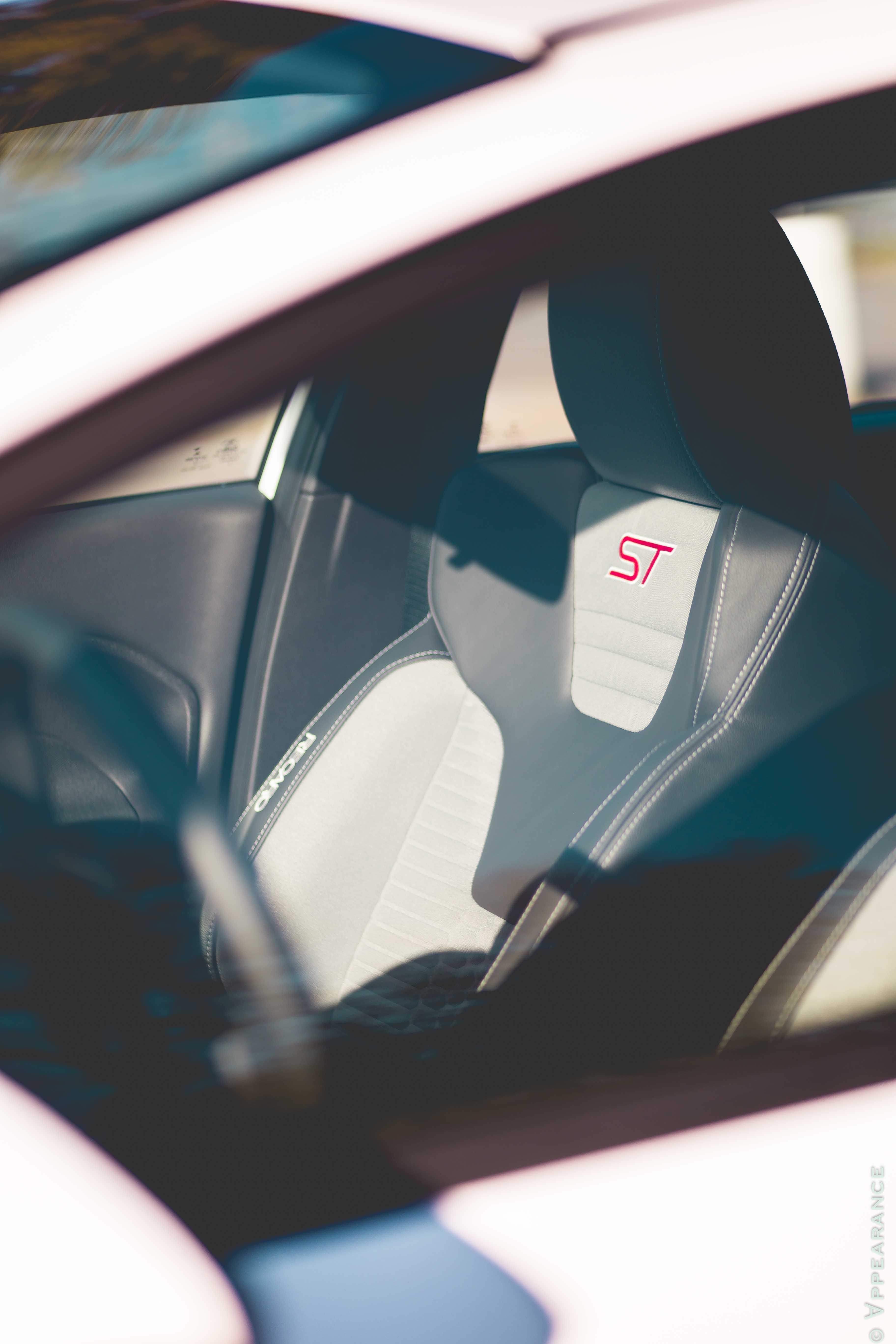 2016 Ford Fiesta ST Seats