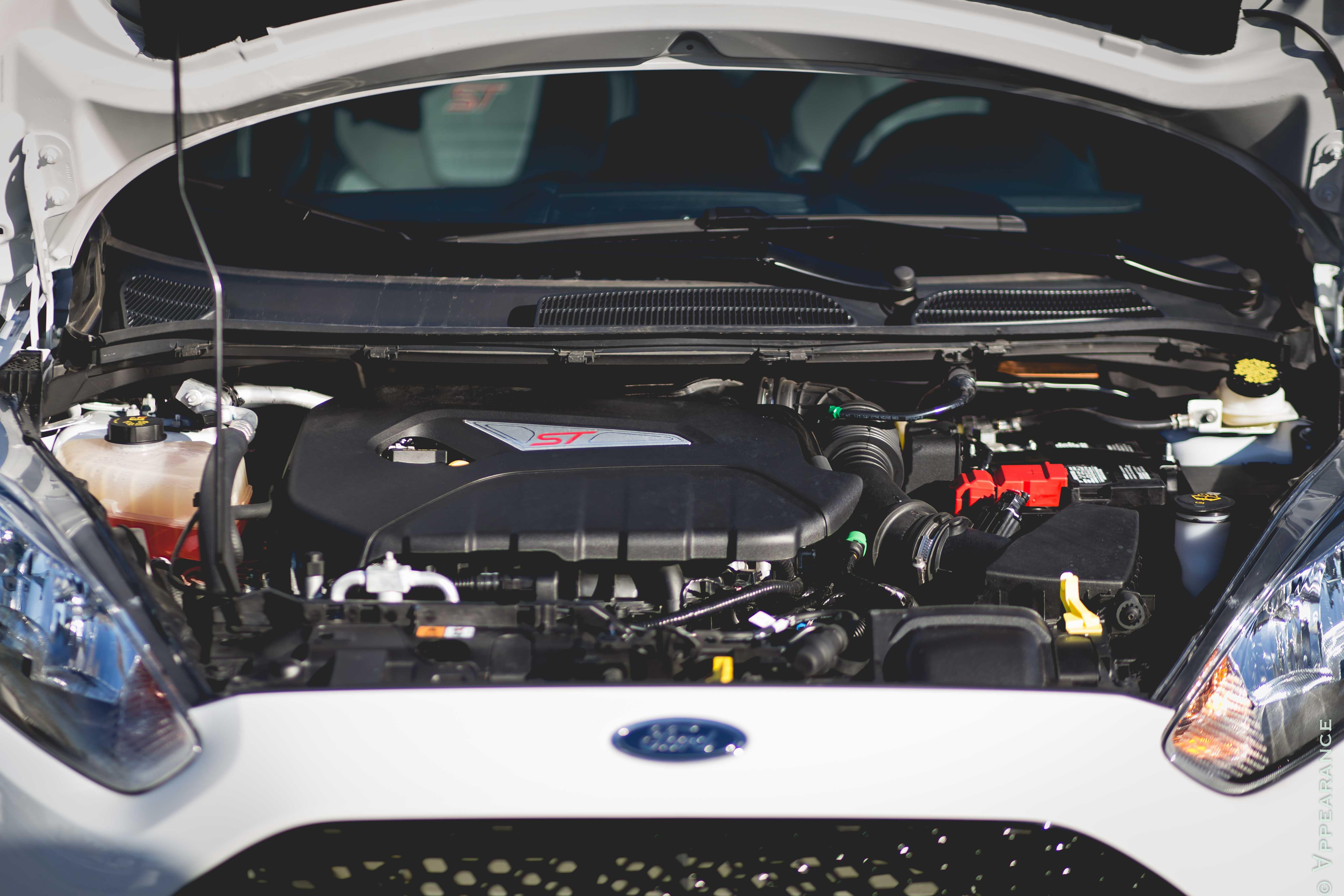 2016 Ford Fiesta St Engine