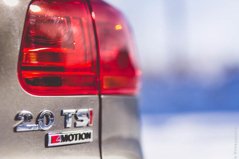 2016 Volkswagen Tiguan Taillights