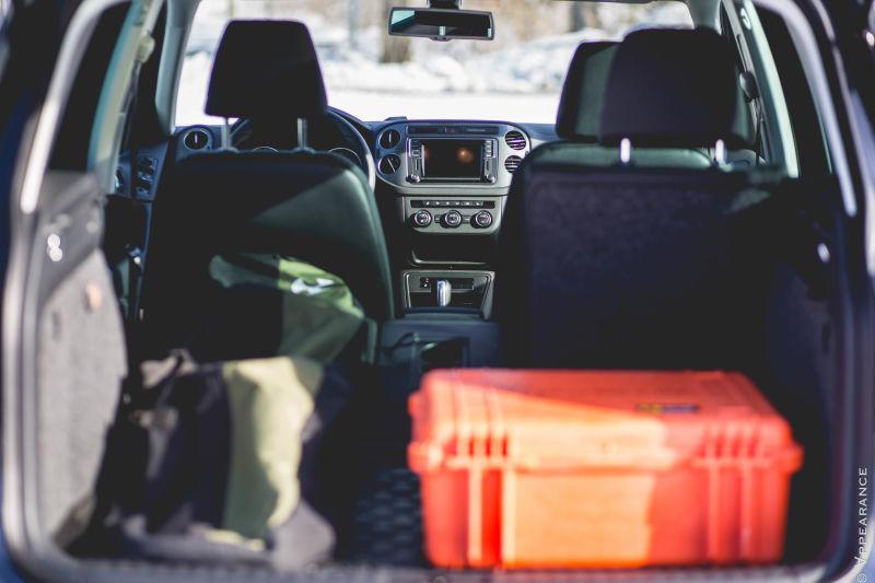2016 Volkswagen Tiguan Cargo Space