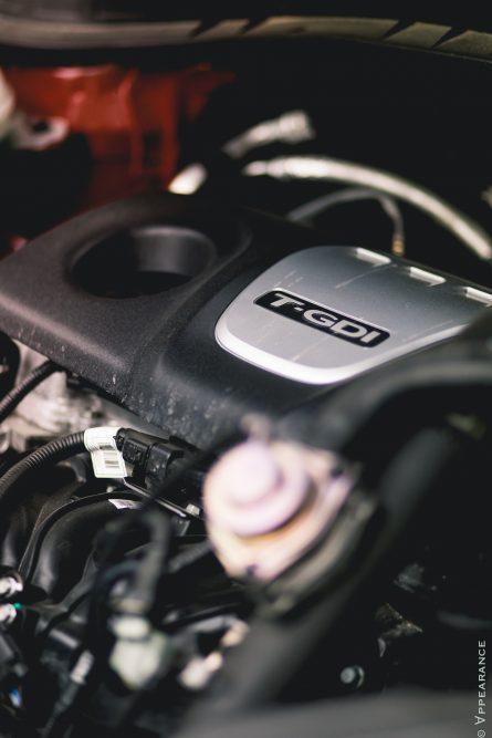 2016 Hyundai Tucson 1.6T engine