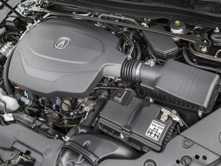 2016 Acura TLX Engine