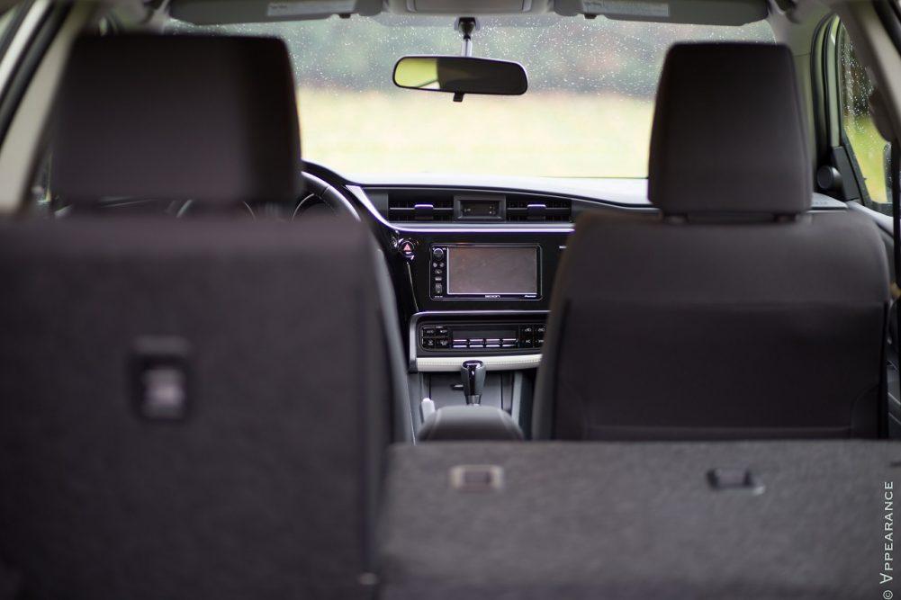 2016 Scion Toyota Corolla IM Cargo Space