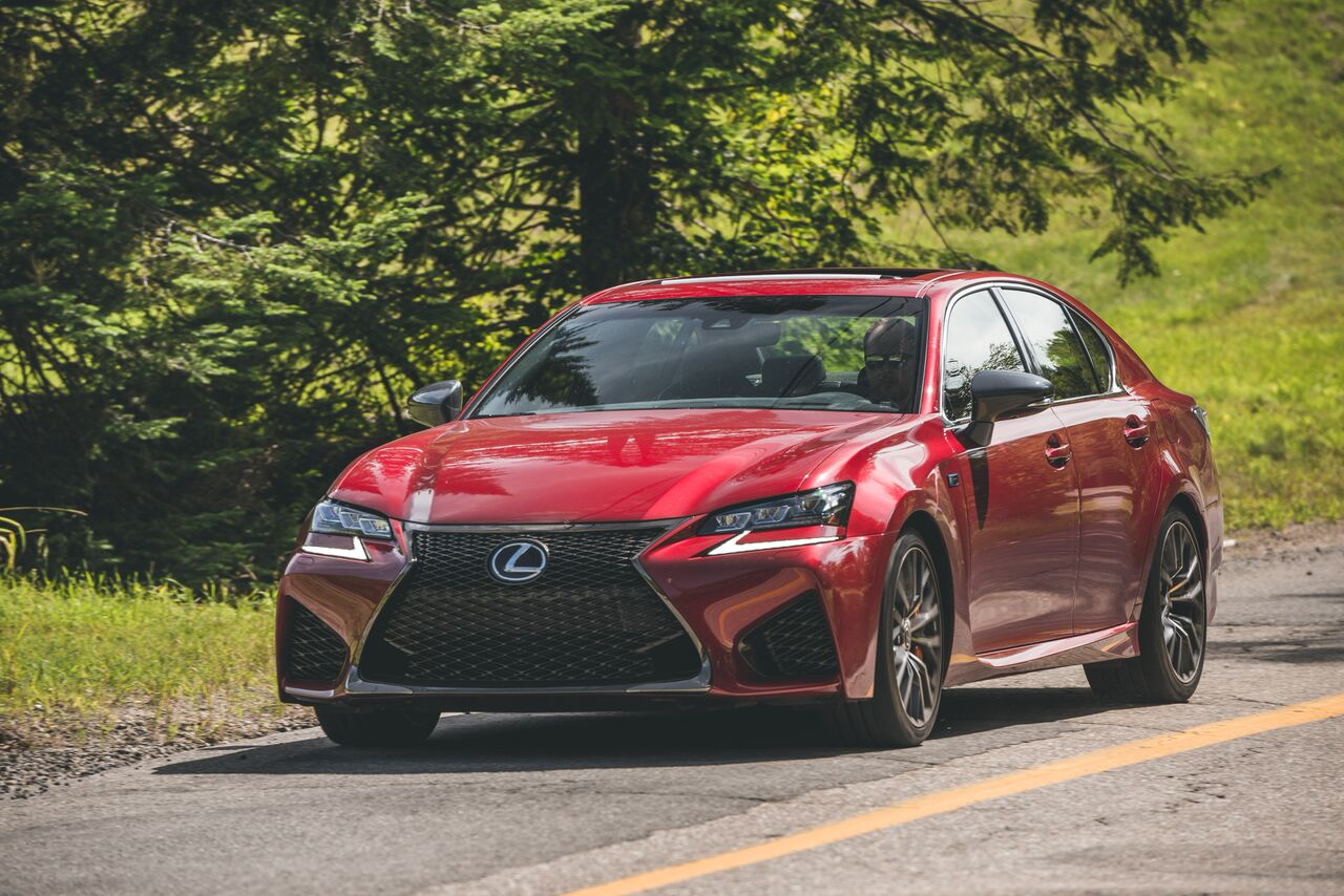 2017 Lexus Gs F At The Opposite Of Nine To Five