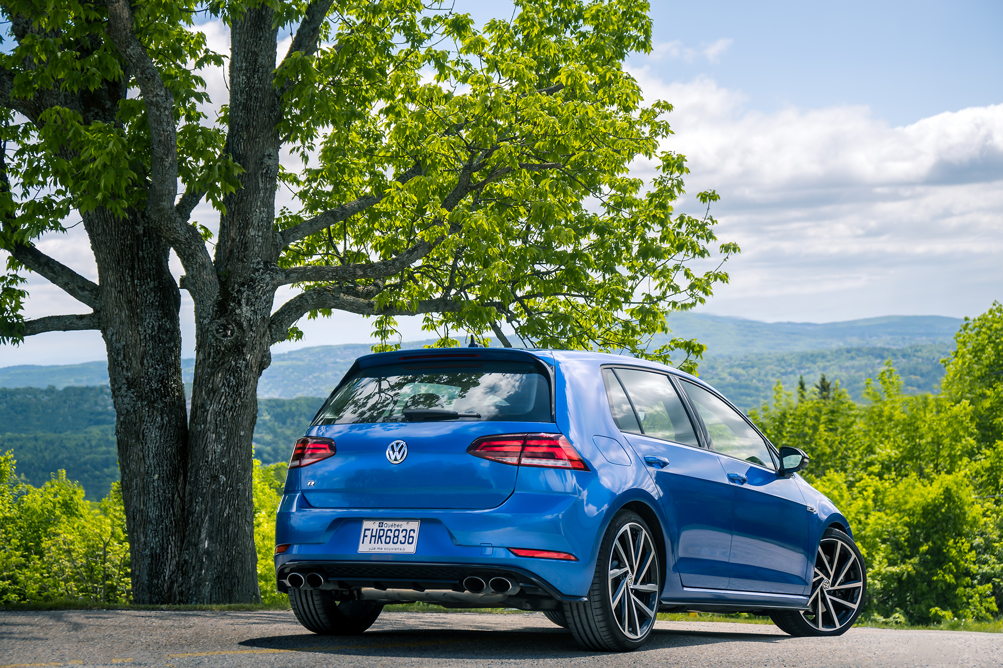 2019 Volkswagen Golf R: Kiss The Rainbow   Clavey's Corner
