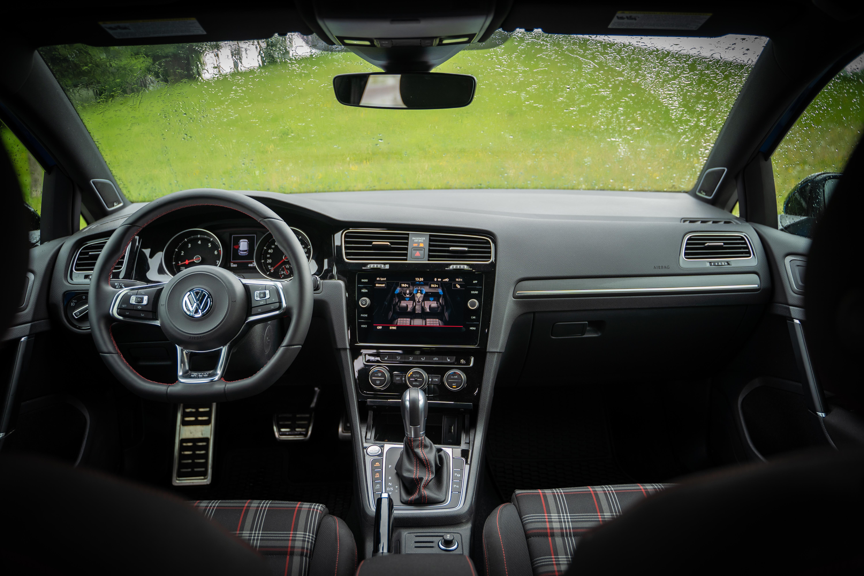 2019 Volkswagen Golf Gti Interior Clavey S Corner