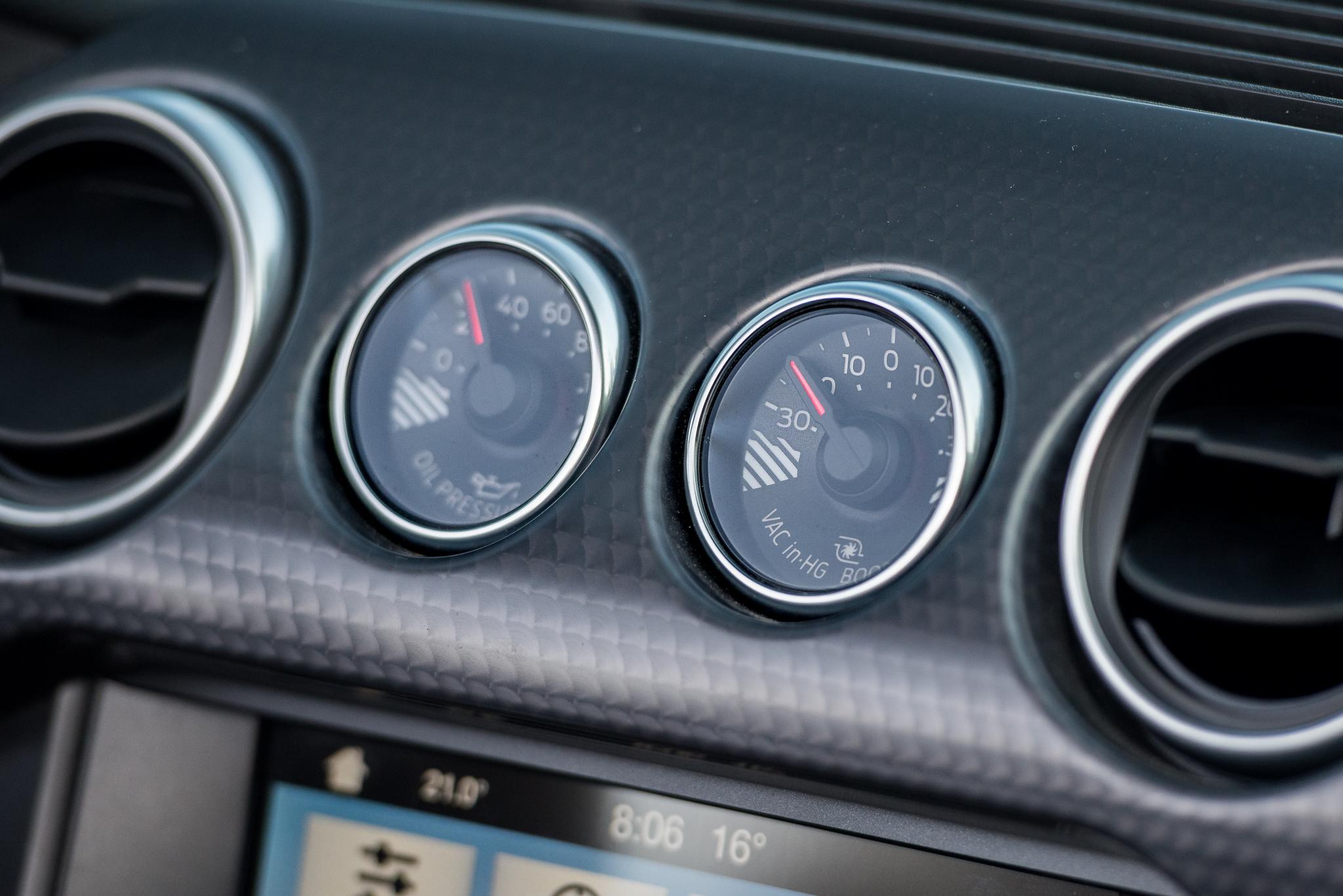 ford mustang ecoboost convertible gauges claveys corner