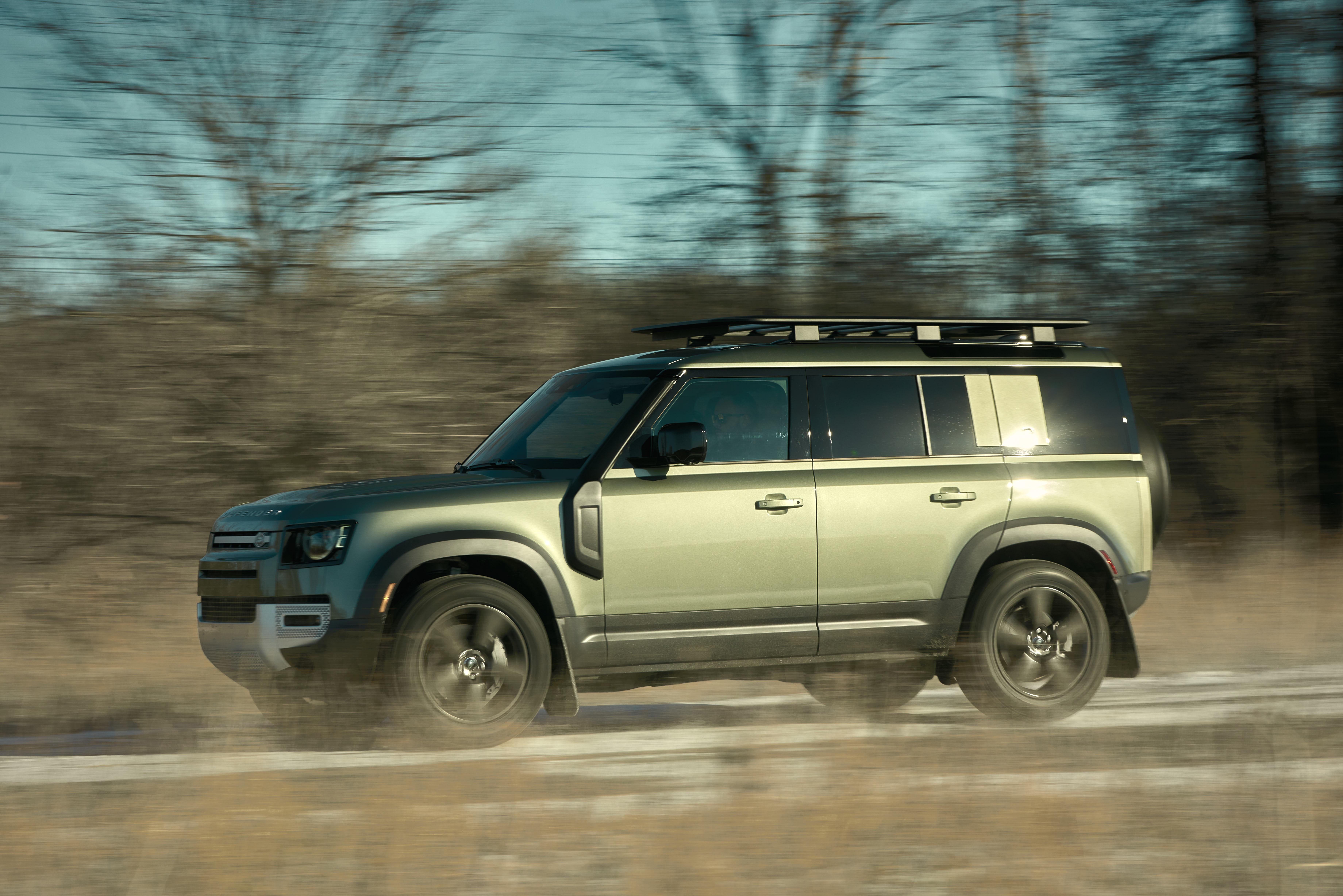 2021 Land Rover Defender Driving Side | Clavey's Corner