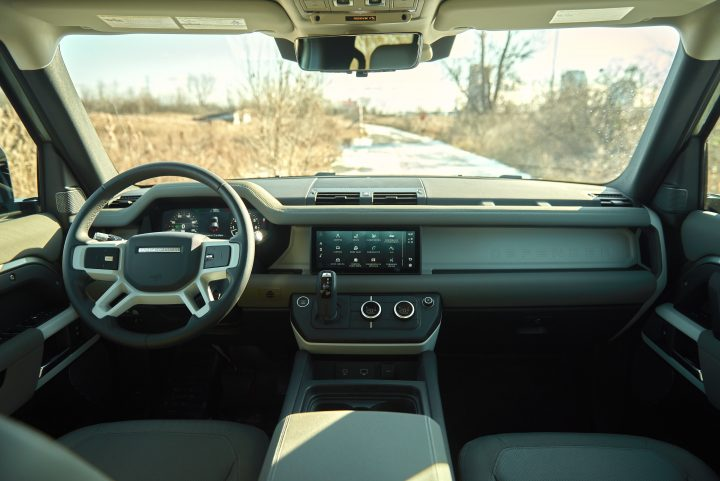 2021 Land Rover Defender Interior | Clavey's Corner