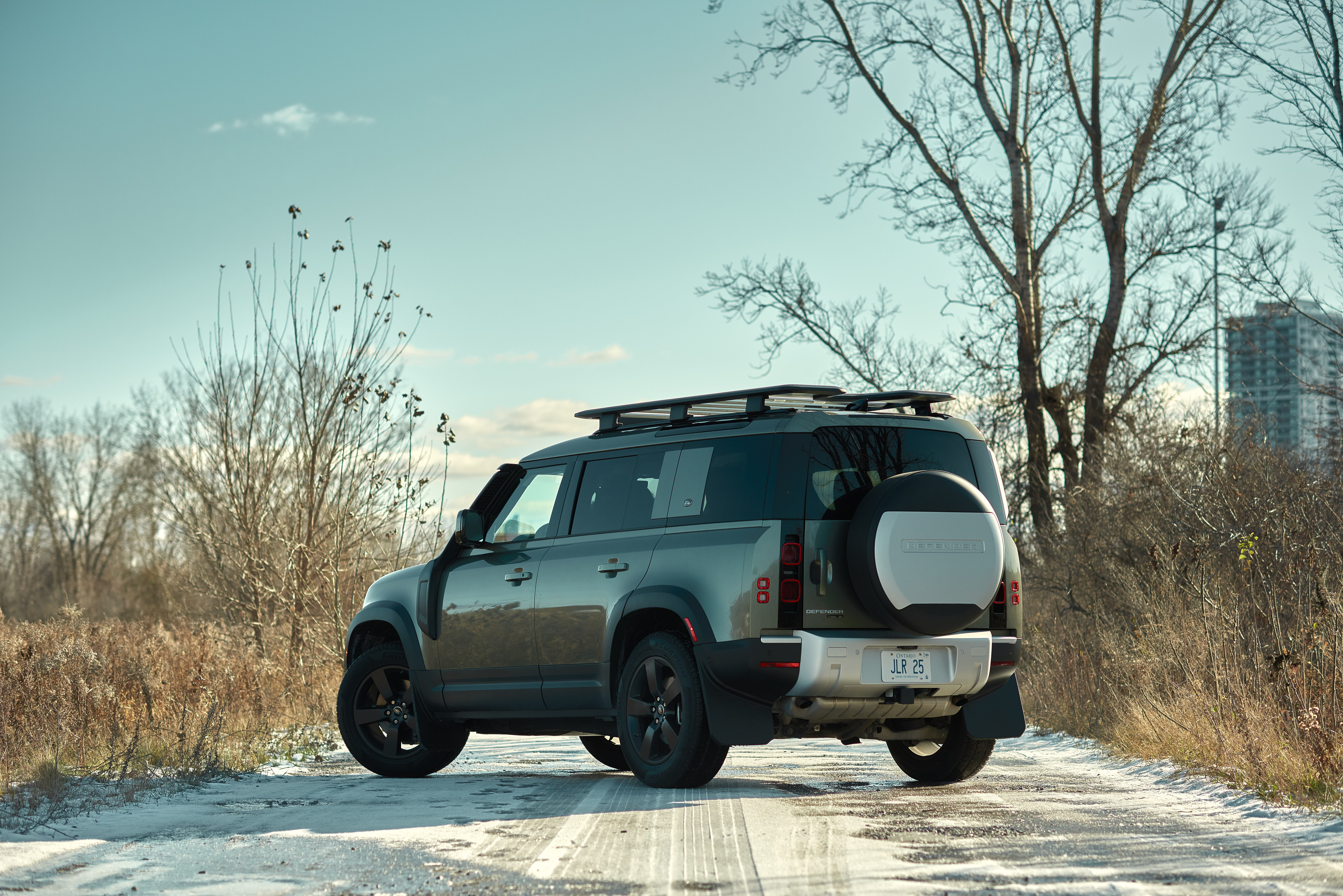 2021 Land Rover Defender Rear Three Quarter | Clavey's Corner