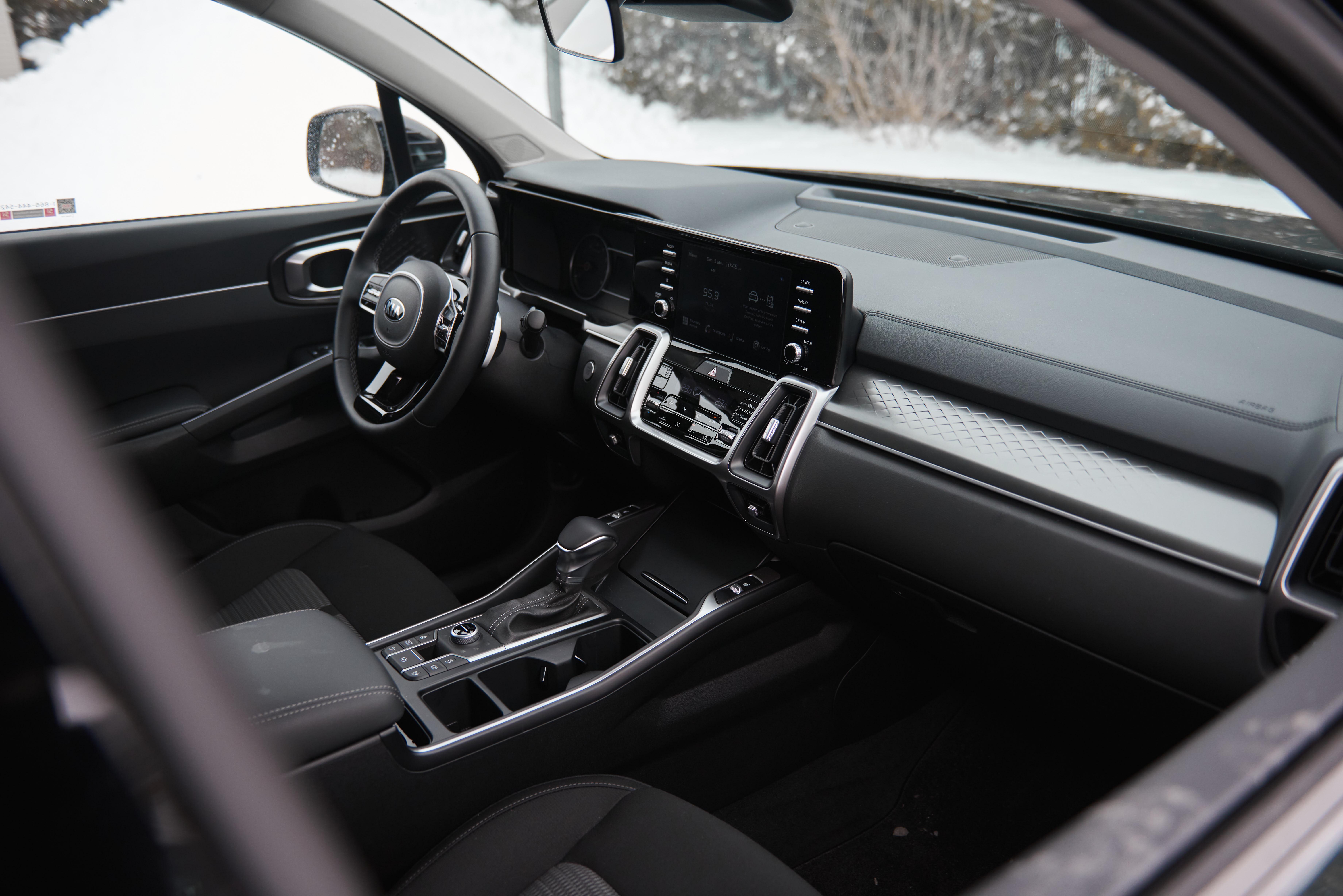 2021 Kia Sorento Interior | Clavey's Corner